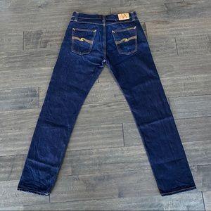 Nudie Jeans Steady Eddie Organic Straight 33 x 34